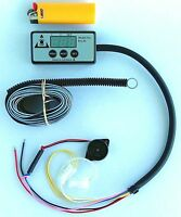 Engine Temperature Alarm - Single Sensor - Latest technology - Compact display