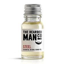 ACCIAIO barba olio balsamo uomo toeletta Regalo 10ml