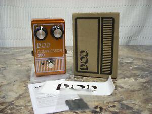 DOD 280 Compressor (REISSUE) w/box Guitar Effects Pedal