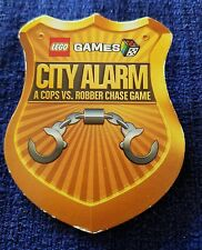 Lego Games CITY ALARM badge A  Cops VS Robber Chase Game