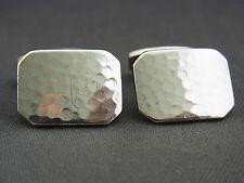 Ein paar schöne Manschettenknöpfe ca.30er Jahre 835/-Silber Hammerschlag