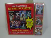 1992 Baseball's 100 Hottest Players Collector Set Score 100 Cards And Book