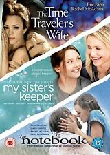 The Time Traveler's Wife / My Sister's Keeper / The Notebook [DVD][Region 2]