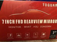7Inch LCD Color Screen Car Reverse Rear View Backup Camera DVD Mirror Monitor