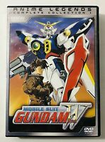 Gundam Wing - Complete Collection 1 DVD, 2006, Anime Legends Multi-Disc Set