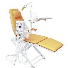 2017 NEW Dental Portable Chair+LED Surgical Light+Waste Basin+Turbine Unit 4H