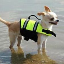 New Paws Aboard Yellow Dog Life Jacket - Paws Aboard Preserver Vest