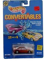 1990 Hot Wheels Convertables Hot Rods Vary Cool T-Bird Stocker