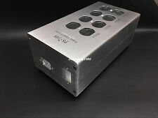aluminum standard American  power supply filter socket chassis DIY shell box