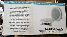 "New 2-Way Ceiling Wall 50 watts Speaker 5.25"" Woofer Easy to Install CS-5.25 NOS"