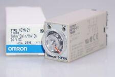 Omron H3YN-21 Temporizador, 0,1 Min. 10H, 24V Dc / 5a Emb.orig, Nuevo