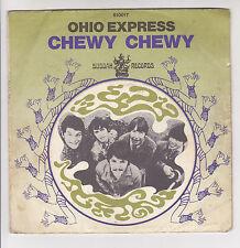 "OHIO EXPRESS Vinyl 45T 7"" CHEWY ..-FIREBIRD -BUDDAH RECORDS 610017 F Rèduit RARE"