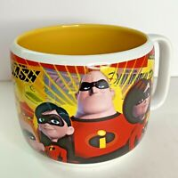 The Incredibles Mug Coffee Cup Disney Store Exclusive World Walt Rare Retired