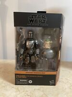Star Wars Black Series Din Djarin The Mandalorian and The Child TARGET IN HAND