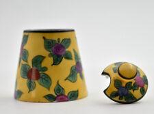 Limoges Vignaud Moutardier condiment vintage french ceramic