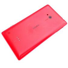 100% Nokia Lumia 720 posteriore cover per batteria+fotocamera vetro + lato tasti