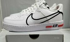 [CD4366-100] Nike Air Force 1 React White/Black/Red US10