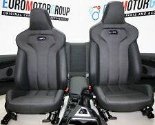 BMW M Sports Seats Leather Carbon Seam Anthracite F82