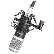 Professional Studio Condenser Microphone Audio Sound Recording Mic Equipment Set