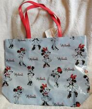 Disney Store Blue With Red Handles Minnie Mouse Bag/purse/tote