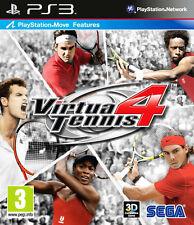 Virtua TENNIS 4 ~ PS3 (en très bon état)