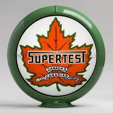 """Supertest 13.5"""" Gas Pump Globe w/ Green Plastic Body (G191)"""