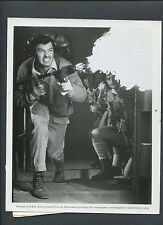ROCK HUDSON FIRES A WWII FLAME THROWER - 1967 FILM ABOUT NORTH AFRICAN WAR