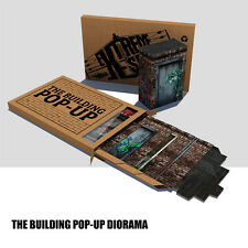 Extreme Sets 3d The Building Pop-Up Action figure Diorama enviorment  IN STOCK!