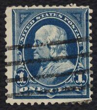 #264 1c Benjamin Franklin, Used [6]**ANY 4=FREE SHIPPING**