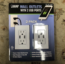 Feit Electric Wall Outlets With 2 USB Ports Charging outlet 3.4 Amps