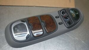 Ford Excursion Overhead Top Roof Console Map Light Display Grey Gray  Wood
