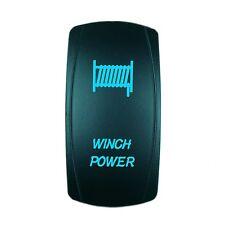 ROCKER SWITCH  WINCH ATV UTV OFF-ROAD PICKUP BLUE LIGHTED