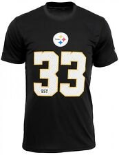 New Era - NFL Pittsburgh Steelers Team Supporters Jersey T-Shirt - Noir