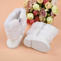 Cute White Boot Shoes For 18 Inch Doll Party Clothing For Kid B5E0 F9J5