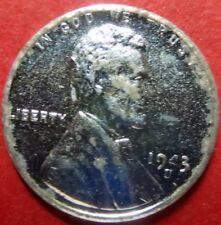"""*UNCIRCULATED  1943-S """"STEEL"""" LINCOLN WHEAT WAR CENT San Francisco Mint #11"""