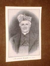 Cardinale Pietro Respighi Bologna, 22 settembre 1843 – Roma, 22 marzo 1913