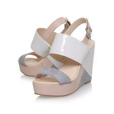 BNWB Nine West Dreamz Colour Block High Heel Wedge Sandals UK4 RRP £90