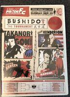 Pride FC Bushido - The Tournament Vol.9 New DVD MMA UFC fights