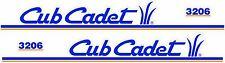 Cub Cadet 3206 Hood Decal Set