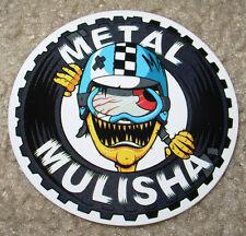 "METAL MULISHA Crash Sticker 3"" motocross skateboard bike decal skate"