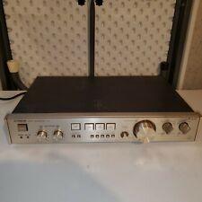 Luxman C-02 Preamplifier - Mm / Mc Phono Input - Recapped