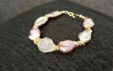 HANDMADE! Genuine Pearl Bracelet 40017