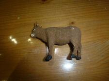 Petite figurine vache floqué, Santon Devineau