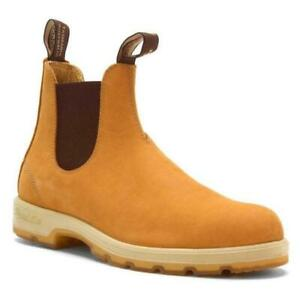 NWT Blundstone 1318 SERIES wheat nubuck elastic brown HNTACIZOG womens sizes