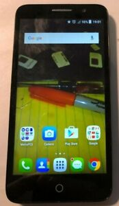 [BROKEN] Alcatel Tru 5065N, 8GB Black Good Used (Metro PCS) Repair Crack Glass