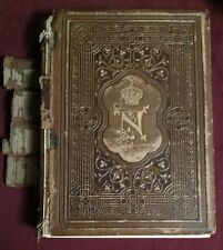 1857 The Court of Napoleon or Society Under The First Empire with Portraits
