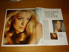 CATHERINE DENEUVE clipping articolo foto photo 1969