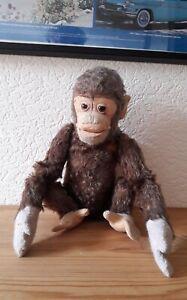 """Steiff: Affe """"Jocko"""", 1960er Jahre, gebraucht und bespielt (siehe Abbildung)"""