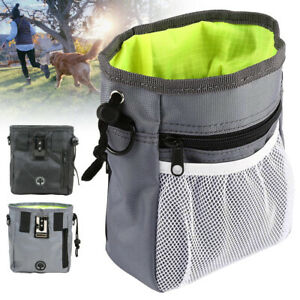 Pet Dog Obedience Training Treat Bag Puppy Feed Bait Food Snack Pouch Belt Bag