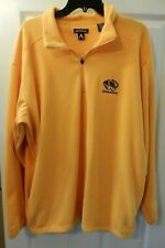 "Men's XL Missouri Tigers ""Mizzou"" Moose Jaw Yellow Fleece"